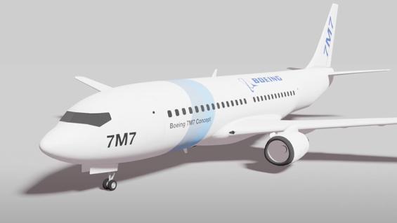 Boeing 7M7