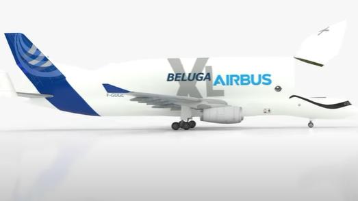 Beluga XL as a Passenger Plane
